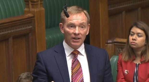 Labour former minister Chris Bryant speaking in the House of Commons (PA)