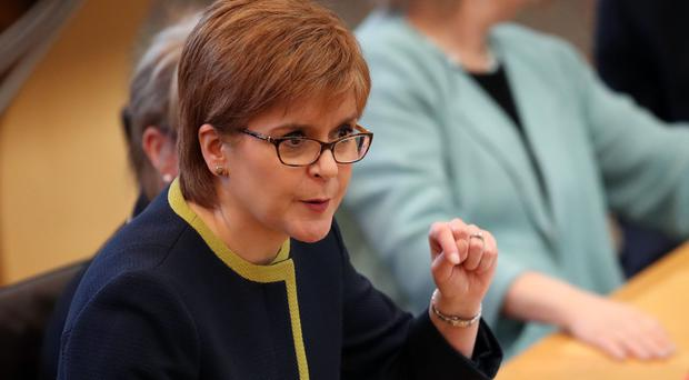 First Minister Nicola Sturgeon said a ban on winter evictions would be considered by ministers