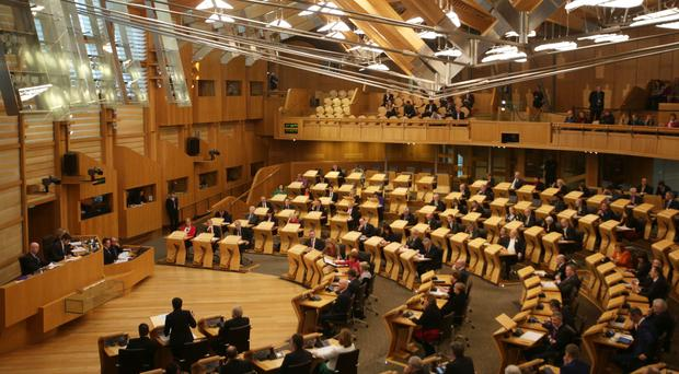 The Continuity Bill could pass through the Scottish Parliament in just three weeks (David Cheskin/PA)