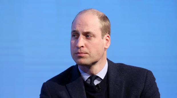 The Duke of Cambridge, pictured during the Royal Foundation forum, calls on workplaces to take mental health seriously. (Chris Jackson)