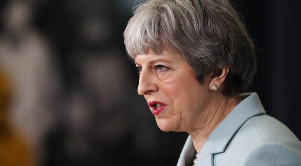 Theresa May's disclosure represented an extremely rare official reference to the potential involvement in crime of agents run by MI5. (Christopher Furlong/PA)