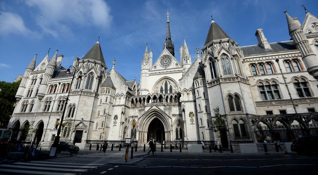 The hearing was held at the Royal Courts of Justice in London (Andrew Matthews/PA)