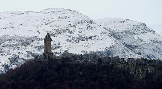 Searches are ongoing in the Ochil Hills for Alison Fox (Andrew Milligan/PA)