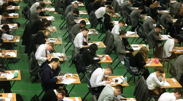 One of the UK's biggest exam boards is to be fined £125,000 after partial solutions to GCSE computing tasks appeared in a textbook it endorsed. (stock image)