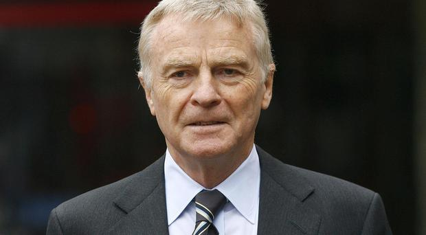 Hard pressed: Max Mosley and the Mail are at daggers drawn