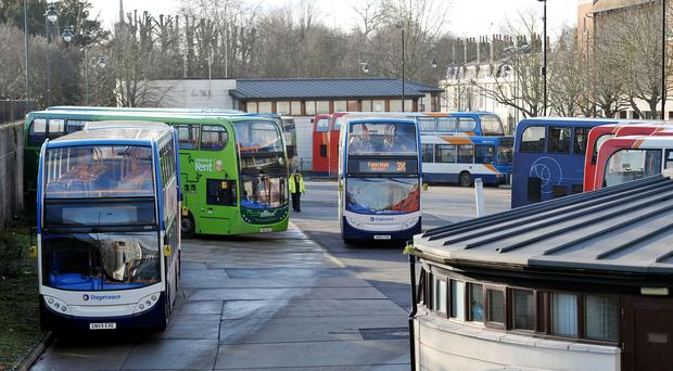 Stock picture of Canterbury bus sation in Canterbury, Kent. (Nick Anselll/PA)