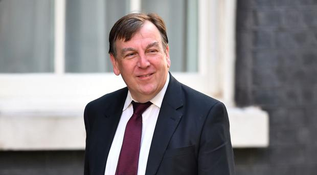 John Whittingdale is a former culture secretary (Dominic Lipinski/PA)