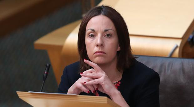 Former Scottish Labour leader Kezia Dugdale wants the party to support EU single market membership (Jane Barlow/PA)