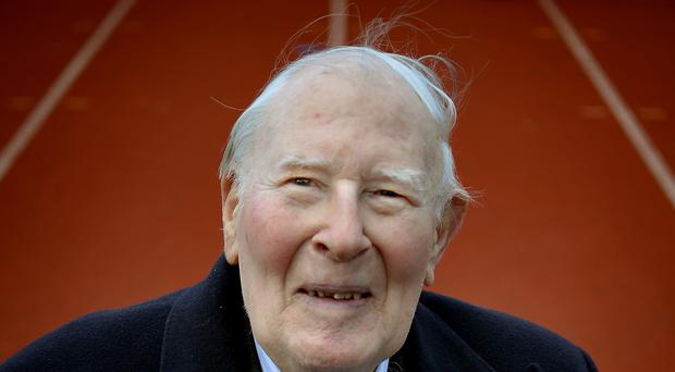 Sir Roger Bannister has died at the age of 88 (Anthony Devlin/PA).