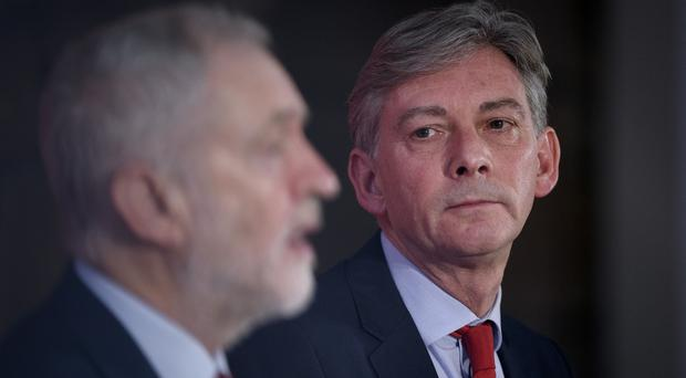 Richard Leonard wants his party's conference to show Labour 'offers hope for the future' (John Linton/PA)