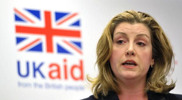 Penny Mordaunt warned predators exploiting the aid sector there is 'no hiding place' (Nick Ansell/PA)