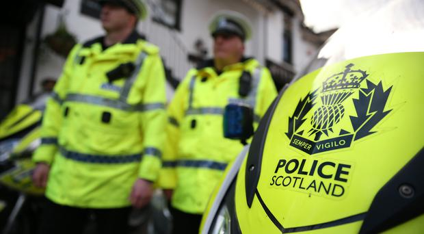 Police Scotland are investigating the murder of Stephen Wallace (Andrew Milligan/PA)