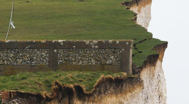 The cliffs at Birling Gap near Eastbourne, East Sussex where the bodies of a man and two boys were found dead on Monday (Gareth Fuller/PA)