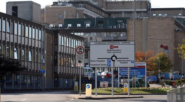 General view of Addenbrooke's Hospital (Chris Radburn/PA)