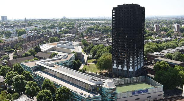 Grenfell Tower was destroyed on June 14 (David Mirzoeff/PA)