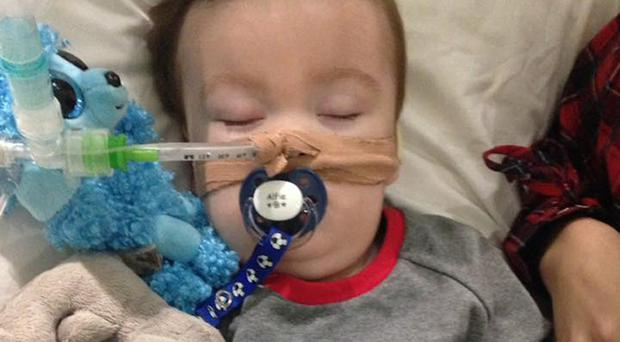 Doctors want to withdraw life-support treatment for Alfie Evans (Alfies Army/PA)