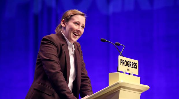 SNP MP Mhairi Black has received a torrent of misogynistic abuse (Jane Barlow/PA)