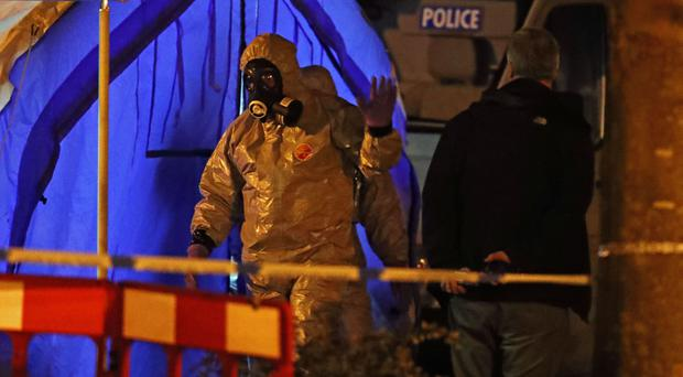 Investigators are trying to establish what the unknown substance which struck down Sergei Skripal and his daughter Yulia is (Steve Parsons/PA)