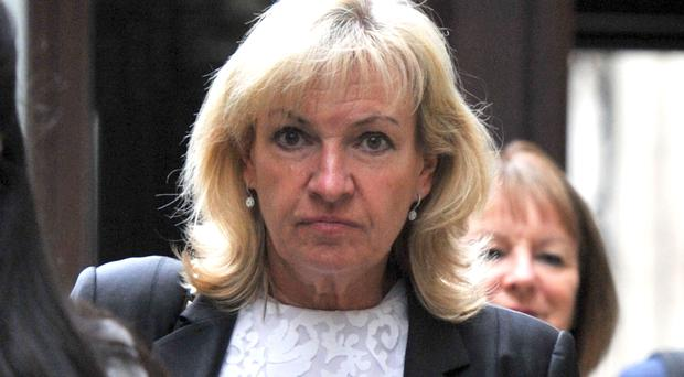 Barbara Cooke is locked in a divorce battle with Michael Parker (Nick Ansell/PA)
