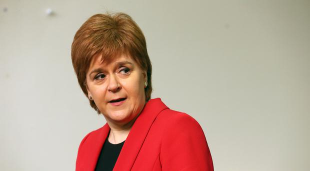 First Minister Nicola Sturgeon has defended the SNP investigation into the behaviour of MSP Mark McDonald (Andrew Milligan/PA)