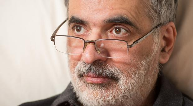 Omid T wants the right to a 'dignified death' (Dominic Lipinski/PA)