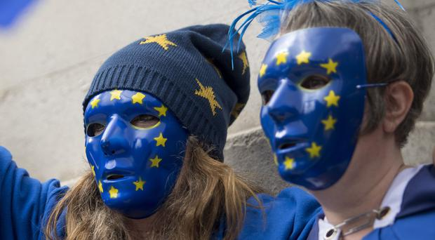 The move calls for Britons to retain EU citizenship (Victoria Jones/PA)