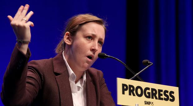 SNP MP Mhairi Black (Jane Barlow/PA)
