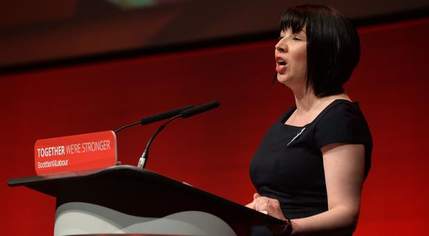 Labour MSP Monica Lennon is hoping to legislate to end period poverty (Mark Runnacles/PA Wire)