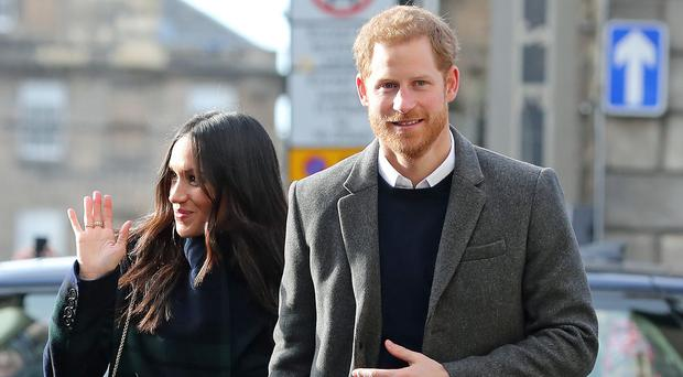 Prince Harry and Meghan Markle will visit Birmingham (Owen Humphreys/PA)