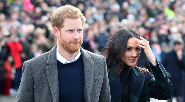 Prince Harry and Meghan Markle are visiting Birmingham (PA)