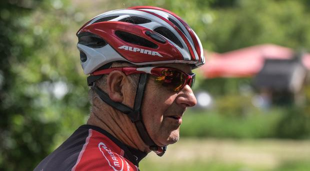 Cycling wards off the effects of ageing, scientists have found. (University of Birmingham/PA)