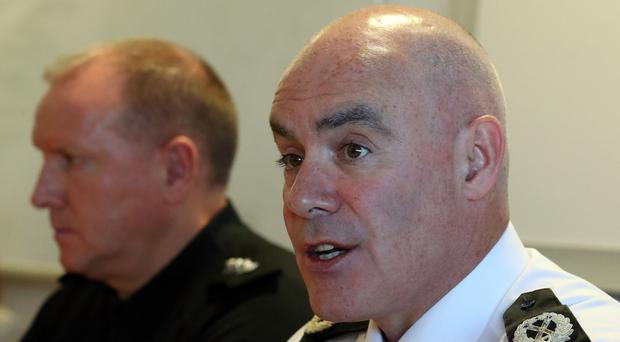 Assistant Chief Constable Bernard Higgins was suspended in November (Andrew Milligan/PA)