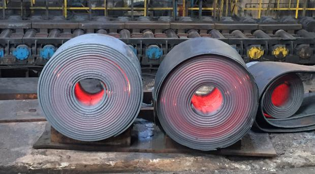 Steel tariffs have been confirmed by US President Donald Trump (Ben Wright/PA)