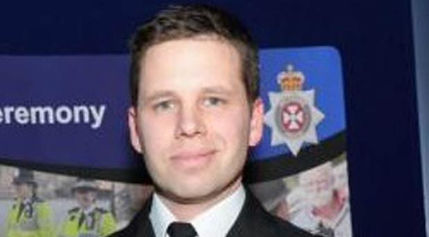 Detective Sergeant Nick Bailey rushed to the aid of a Russian ex-spy targeted with a nerve agent (Wiltshire Police/PA)