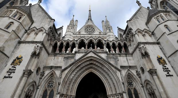 The Royal Courts of Justice (Nick Ansell/PA)