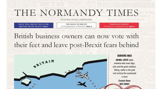 The Normandy Development Agency is trying to convince British businesses to cross the Channel (Normandy Development Agency/PA)