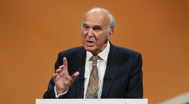 Sir Vince Cable has warned Brexit is fuelling the rise of the populist right (Andrew Matthews/PA)