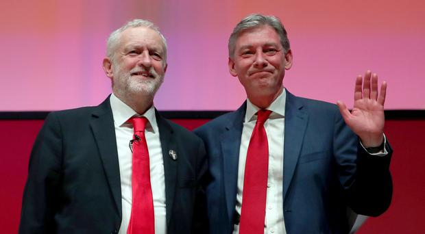Labour leader Jeremy Corbyn (left) and Scottish Labour leader Richard Leonard both want a new customs union post Brexit (Jane Barlow/PA)