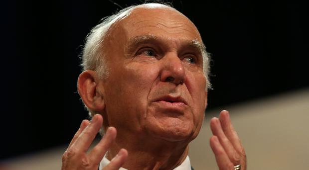 Sir Vince Cable insisted 'nostalgia for that world' was a factor in how people had voted (Andrew Matthews/PA)