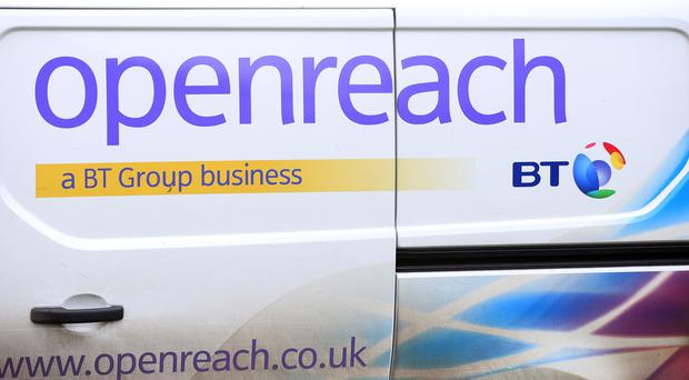 The Community Fibre Partnerships programme sees local communities forming partnerships with Openreach (Jonathan Brady/PA)