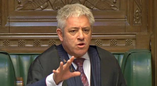 Commons Speaker John Bercow (PA)