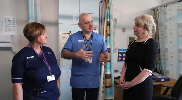 Health Secretary Shona Robison praised health staff for thier efforts durign the severe weather. (Andrew Milligan/PA)