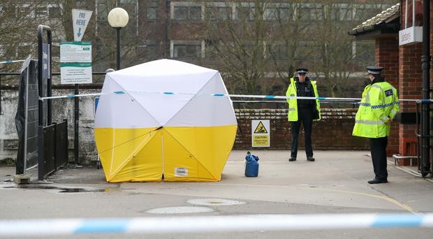 Salisbury remains a crime scene (Andrew Matthews/PA)