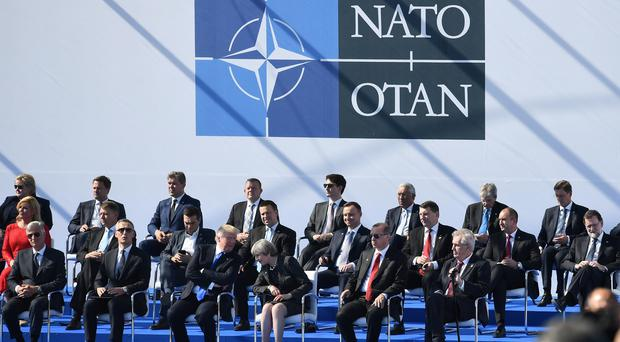 Member states of the North Atlantic Treaty Organisation (NATO) have condemned the Salisbury attack (Justin Tallis/PA)