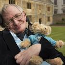 Professor Stephen Hawking at Gonville and Caius College, Cambridge (Dan White/Gonville and Caius/PA)