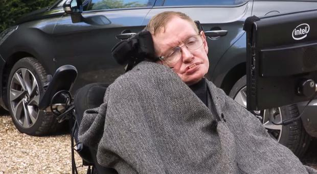 Professor Stephen Hawking's family took part in the Ice Bucket Challenge (MNDA).