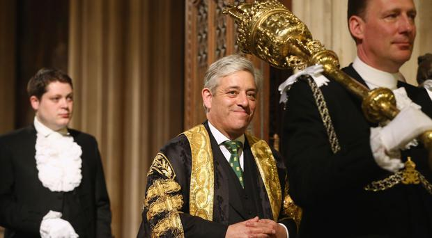 Commons Speaker John Bercow will step aside during discussions (Dan Kitwood/PA)