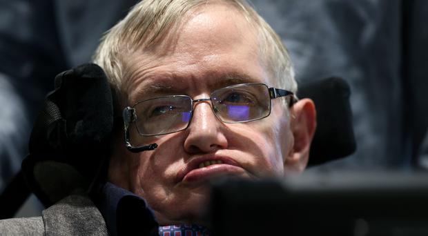 Professor Stephen Hawking has died, aged 76. (Chris Radburn/PA)