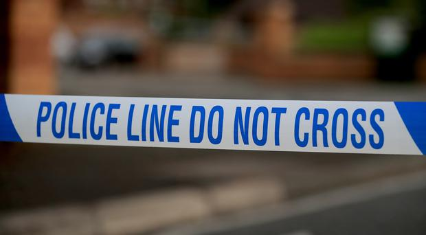 A man arrested on suspicion of attempted murder died in hospital after a fire in Benfleet, Essex (PA)