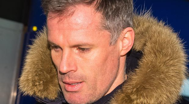 Jamie Carragher faces no police action over spitting incident (Dominic Lipinski/PA)